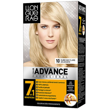 Belleza Mujer Tratamiento capilar Llongueras Color Advance 10-rubio Muy Claro Aclarante 1 u