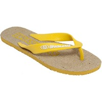 Zapatos Chanclas Brasileras Chanclas  Arpi Amarillo Multicolor