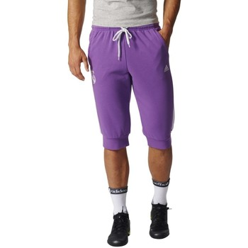 textil Hombre Shorts / Bermudas adidas Originals Pantalon  Real Madrid 3S 3/4 2016/17 Multicolor