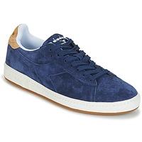 Zapatos Hombre Zapatillas bajas Diadora GAME LOW SUEDE Azul