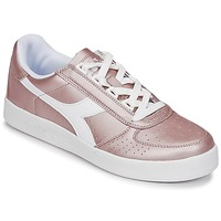 Zapatos Mujer Zapatillas bajas Diadora B ELITE I METALLIC WN Bronce