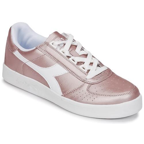 Los últimos zapatos de descuento para hombres y mujeres Zapatos especiales Diadora B ELITE I METALLIC WN Bronce