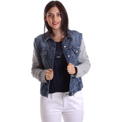 textil Mujer chaquetas denim Liu Jo U17064D0219 Chaqueta Mujeres Azul Azul