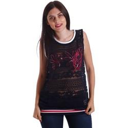 textil Mujer Tops / Blusas Liu Jo T17140J9141 Top Mujeres Azul Azul