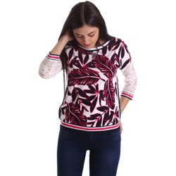 textil Mujer jerséis Liu Jo T17141J9148 Sueteres Mujeres Rosa Rosa