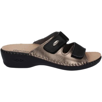 Zapatos Mujer Zuecos (Mules) Riposella 6427 Sandals Mujeres Black Black