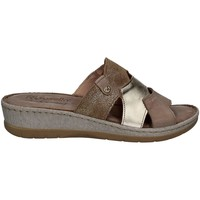 Zapatos Mujer Zuecos (Mules) Riposella 6291 Sandals Mujeres Turtledove Turtledove