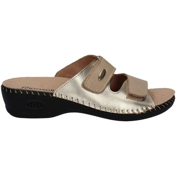 Zapatos Mujer Zuecos (Mules) Riposella 6427 Sandalias Mujeres Beige Beige