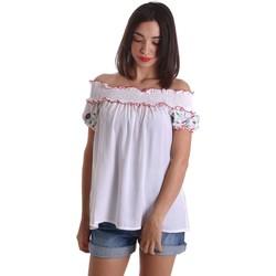 textil Mujer Tops / Blusas Denny Rose 73DR24012 Blusa Mujeres Blanco Blanco