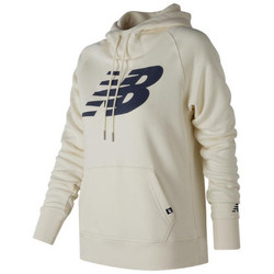 textil Hombre sudaderas New Balance Essentials Full Zip Hoodie Blanco