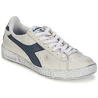 Zapatos Zapatillas bajas Diadora GAME L LOW WAXED Blanco / Azul