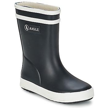 Zapatos Niños Botas de agua Aigle BABY FLAC Negro