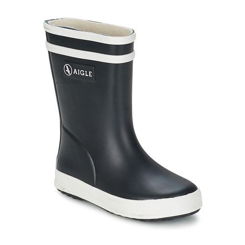 Zapatos Niños Botas de agua Aigle BABY FLAC Marino