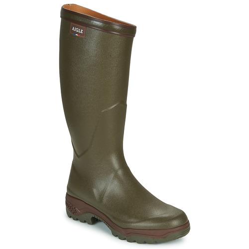 Zapatos especiales para hombres y mujeres Aigle PARCOURS 2 Kaki
