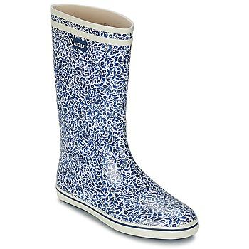 Zapatos Mujer Botas de agua Aigle MALOUINE PRINT Arándano
