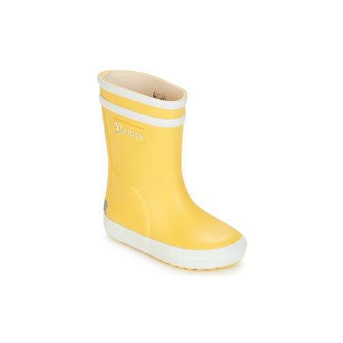 Aigle BABY FLAC Amarillo - Envío gratis | ! - Zapatos Botas de agua Nino