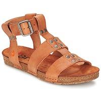 Zapatos Mujer Sandalias Art CRETA SPARA Camel