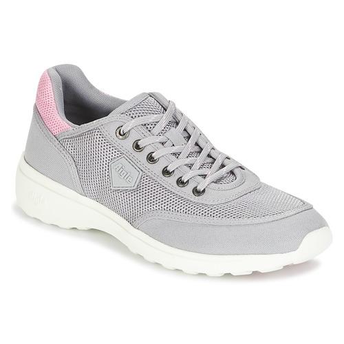 Venta de liquidación de temporada Zapatos especiales Aigle LUPSEE W MESH Gris / Rosa