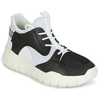 Zapatos Hombre Zapatillas bajas Bikkembergs FIGHTER 2022 LEATHER Negro / Blanco