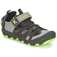 Zapatos Niño Sandalias Kangaroos KANGASPEED 2068 Negro / Verde