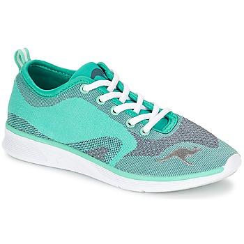 Zapatos Mujer Zapatillas bajas Kangaroos K-LIGHT 8004 Turquesa