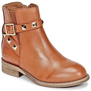 Zapatos Niña Botas de caña baja Young Elegant People CELIAL Cognac