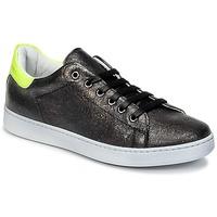 Zapatos Niños Zapatillas bajas Young Elegant People EDENI Negro / Amarillo / Fluo