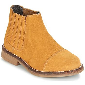 Zapatos Niña Botas de caña baja Young Elegant People FILICIAL Marrón / Trigo
