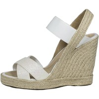 Zapatos Mujer Sandalias Mtbali Sandalia Alpargata con cuña, Mujer - Modelo White Star blanco