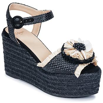 Zapatos Mujer Sandalias Castaner EFEDRA Negro