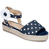Zapatos Mujer Sandalias Castaner WOXOC Marino