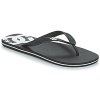 Zapatos Hombre Chanclas DC Shoes SPRAY M SNDL BLW Negro / Blanco