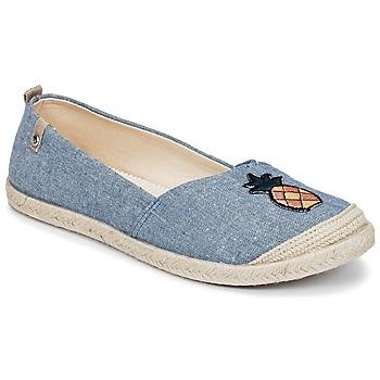 Zapatos Mujer Alpargatas Roxy FLORA II J SHOE CHY Azul