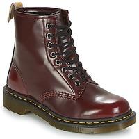 Zapatos Botas de caña baja Dr Martens VEGAN 1460 Rojo