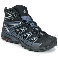 Zapatos Hombre Senderismo Salomon X ULTRA 3 MID GTX® Negro