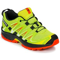 Zapatos Niños Multideporte Salomon XA PRO 3D J Amarillo / Negro