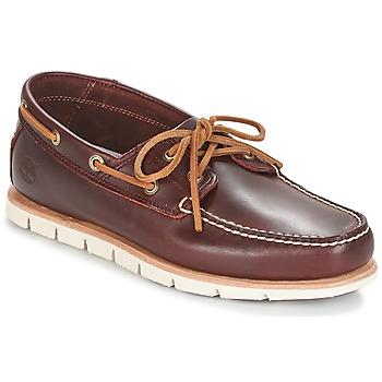 Zapatos Hombre Zapatos náuticos Timberland TIDELANDS 2 EYE Burdeo