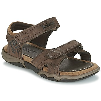 Zapatos Niños Sandalias de deporte Timberland OAK BLUFFS Marrón
