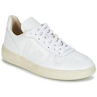 Zapatos Zapatillas bajas Veja V-10 Blanco
