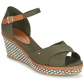 Zapatos Mujer Sandalias Tommy Hilfiger ICONIC ELBA SANDAL BASIC Verde