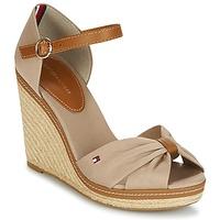 Zapatos Mujer Sandalias Tommy Hilfiger ICONIC ELENA SANDAL Beige