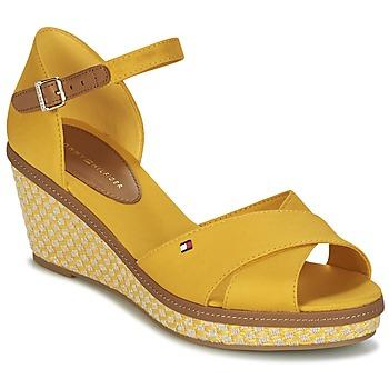 Zapatos Mujer Sandalias Tommy Hilfiger ICONIC ELBA SANDAL BASIC Amarillo