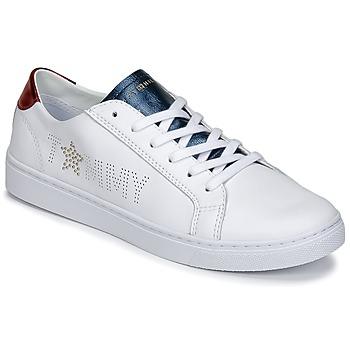 Zapatos Mujer Zapatillas bajas Tommy Hilfiger VENUS 22 Blanco / Azul / Rojo