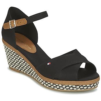 Zapatos Mujer Sandalias Tommy Hilfiger ICONIC ELBA SANDAL BASIC Negro