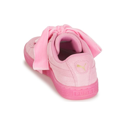 Mujer Wn's Suede Reset Rosa Puma Zapatillas Zapatos Bajas Heart b76gfyIvYm