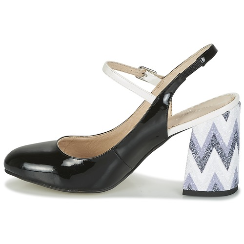 Tacón Yellow Mujer Zapatos Mellow Negro De Dalya 6vgYyf7b