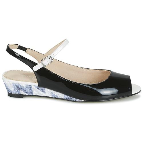 Mellow Yellow Zapatos Negro Mujer Sandalias Daly vN08wymnOP