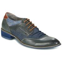 Zapatos Hombre Derbie Kdopa LYON Azul / Camel