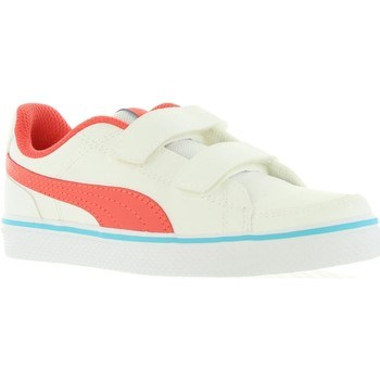 Zapatos Niños Zapatillas bajas Puma 362948 COURT Blanco