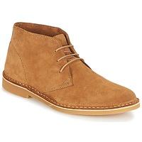 Zapatos Hombre Botas de caña baja Selected SHH ROYCE LIGHT SUEDE BOOT Cognac